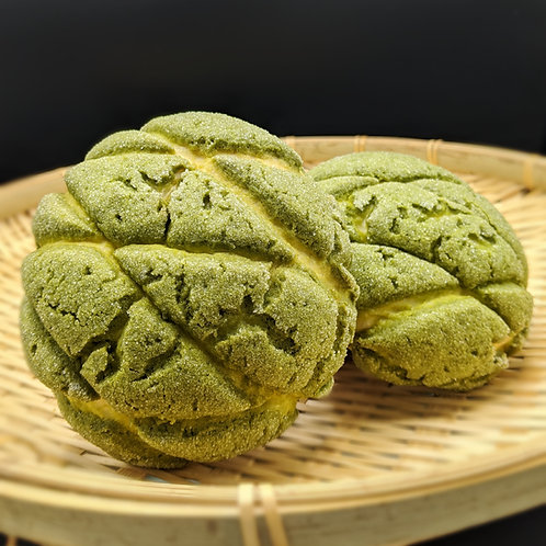 FRIDAY - Matcha Melon Pan