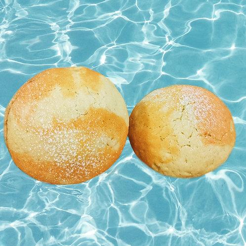 SATURDAY - Mini Mango Mochi Melon Pan