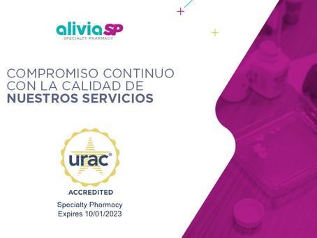 Alivia Specialty Pharmacy obtiene la acreditación URAC como Farmacia Especializada