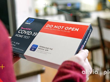 Cómo usar la prueba de COVID-19 casera BinaxNow™