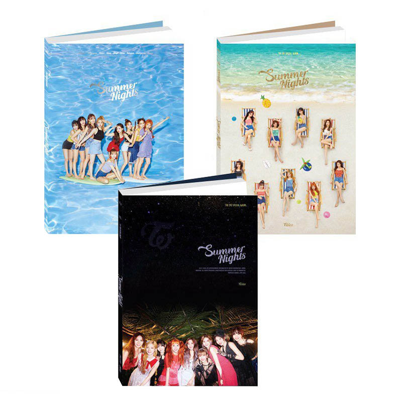 TWICE 2nd Special Album 'SUMMER NIGHT' All versions