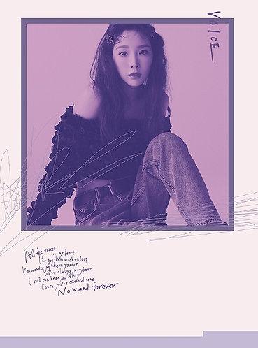 Taeyeon 1st Japan Mini Album Voice
