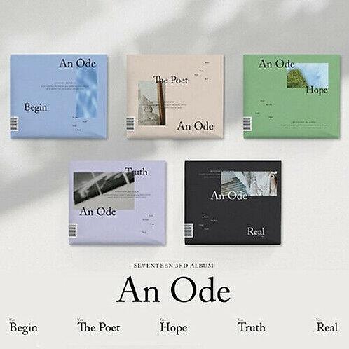 SEVENTEEN [AN ODE] 3rd Album CD