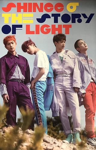 SHINee 6TH Album Story of Light POSTER