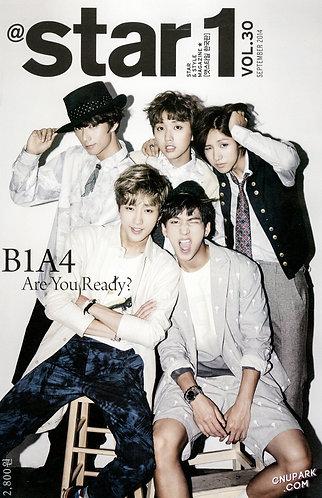 Star 1 Vol.30 2014.09 Cover: B1A4