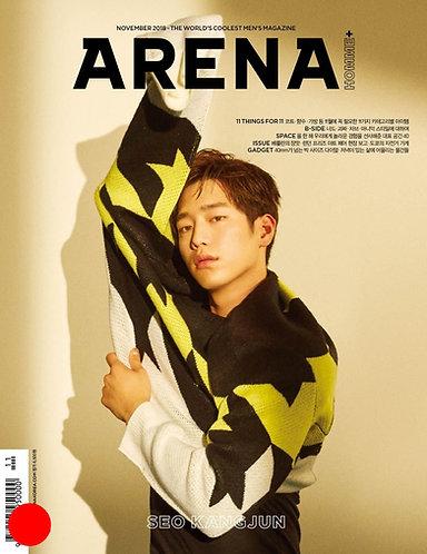 ARENA HOMME+ Korea - Nov 2018: Seo Kangjun