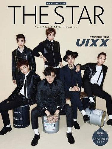 The Star Vol. 20 2014.11 Cover:VIXX
