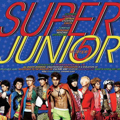 Super Junior 5th Album - Mr. Simple