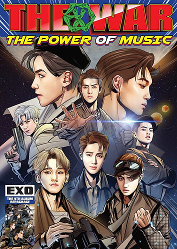EXO THE WAR The Power of Music 4th Album CD