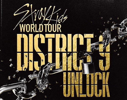 Stray Kids world tour District 9 Unlock