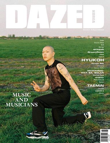 DAZED AND CONFUSED Korea 2018.06 HYUKOH VINXEN TAEMIN MAMAMOO