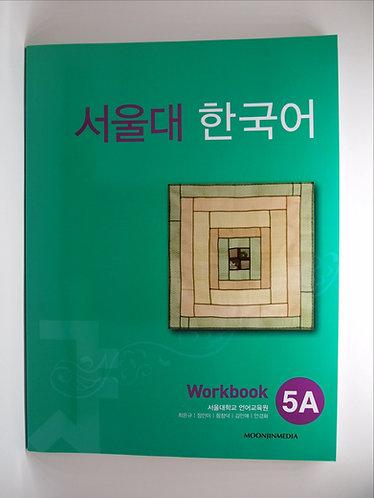 Seoul Korean Workbook 5A