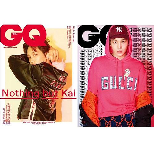 GQ 2018.07 Cover : EXO Kai