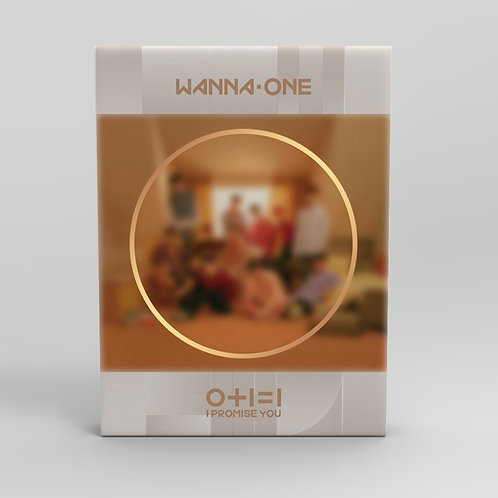 WANNA ONE 0+1=1 I PROMISE YOU (DAY VER.) MINI ALBUM VOL.2