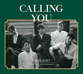 HIGHLIGHT 1st Mini Album Repackage - CALL YOU CD