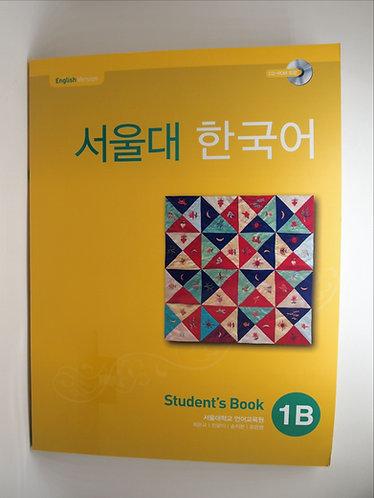 Seoul Korean Student's Book 1B