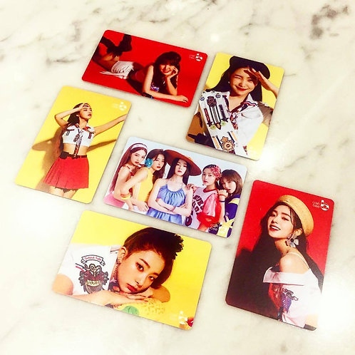 Red Velvet - Yeri / Irene Korea Transportation Card Cashbee Card