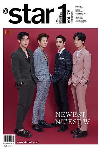 Star1 2018.09 VOL.78 Cover Nu'est W