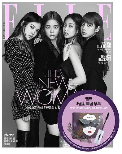 ELLE 2018.08 Cover BLACK PINK