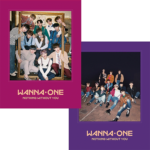 WANNA ONE Mini Album Vol. 1 - Nothing Without You
