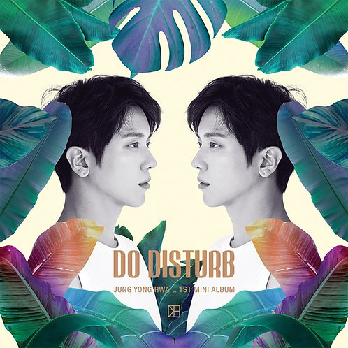 Jung Yong Hwa CNBLUE DO DISTURB 1st Mini Album NORMAL VER. CD