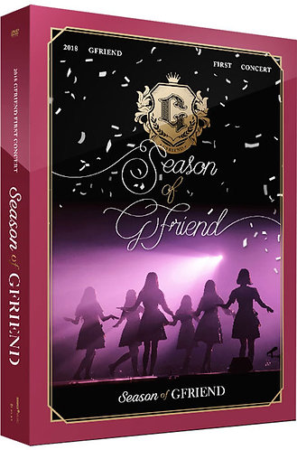 Gfriend First Concert DVD [Season of Gfriend]