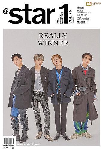 Star 1 Vol.76 2018.07 Cover: WINNER