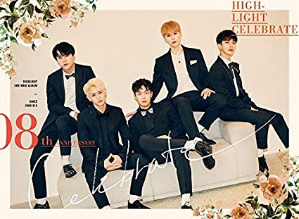 HIGHLIGHT - CELEBRATE [A ver.] (2nd Mini Album) CD+Photobook