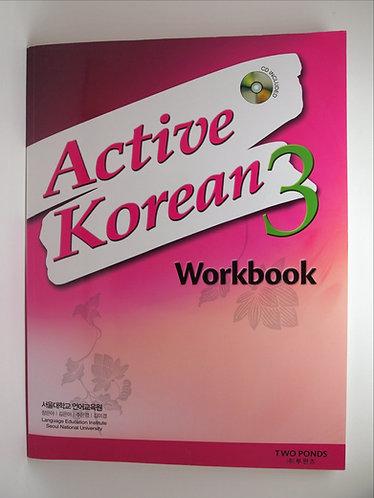 Active Korean 3 Workbook