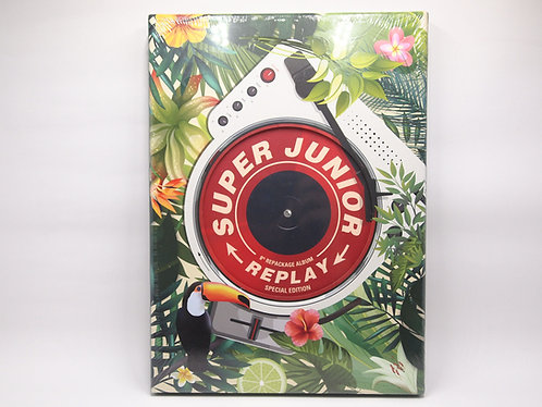 Super Junior - 8TH ALBUM Repackage / REPLAY (SPECIAL EDITION)