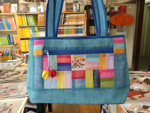 Korean embroidery hand bag
