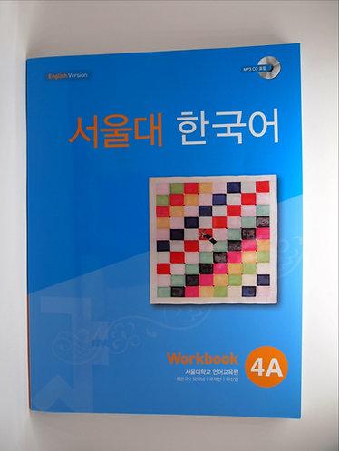 Seoul Korean Workbook 4A