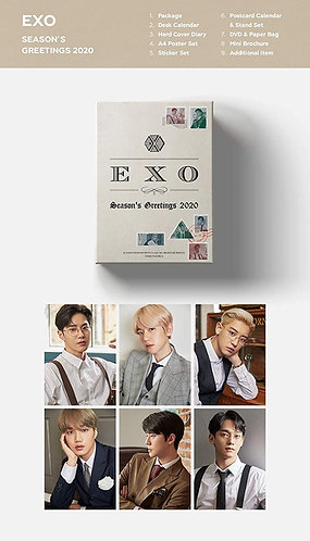 EXO 2020 Season Greetings