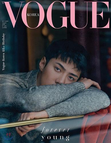 VOGUE 2018.08 B형 : Cover EXO