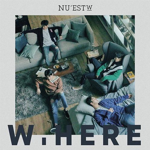 NU'EST W - W.HERE PORTRAIT VER. CD+Photobook