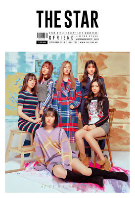 The Star 2018.08 Cover: GFRIEND