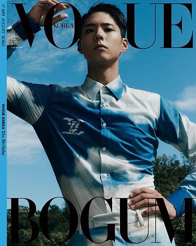 Vogue 2020.08 - 박보검