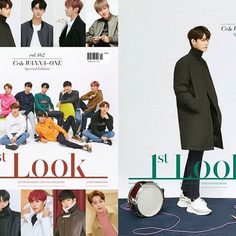1st LOOK Vol.162 Cover Wanna One 옹성우