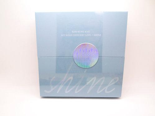 Kim Sung Kyu 1st Solo Concert Live [SHINE] (2CD)