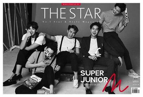 THE STAR 2014.04 Cover: SUPER JUNIOR-M