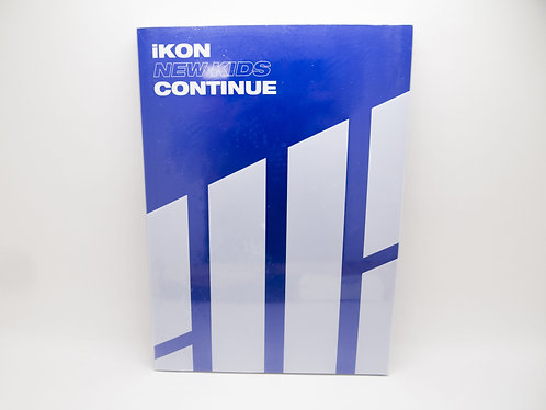 iKON mini albumn: New Kids : Continue [Blue/Red ver.]
