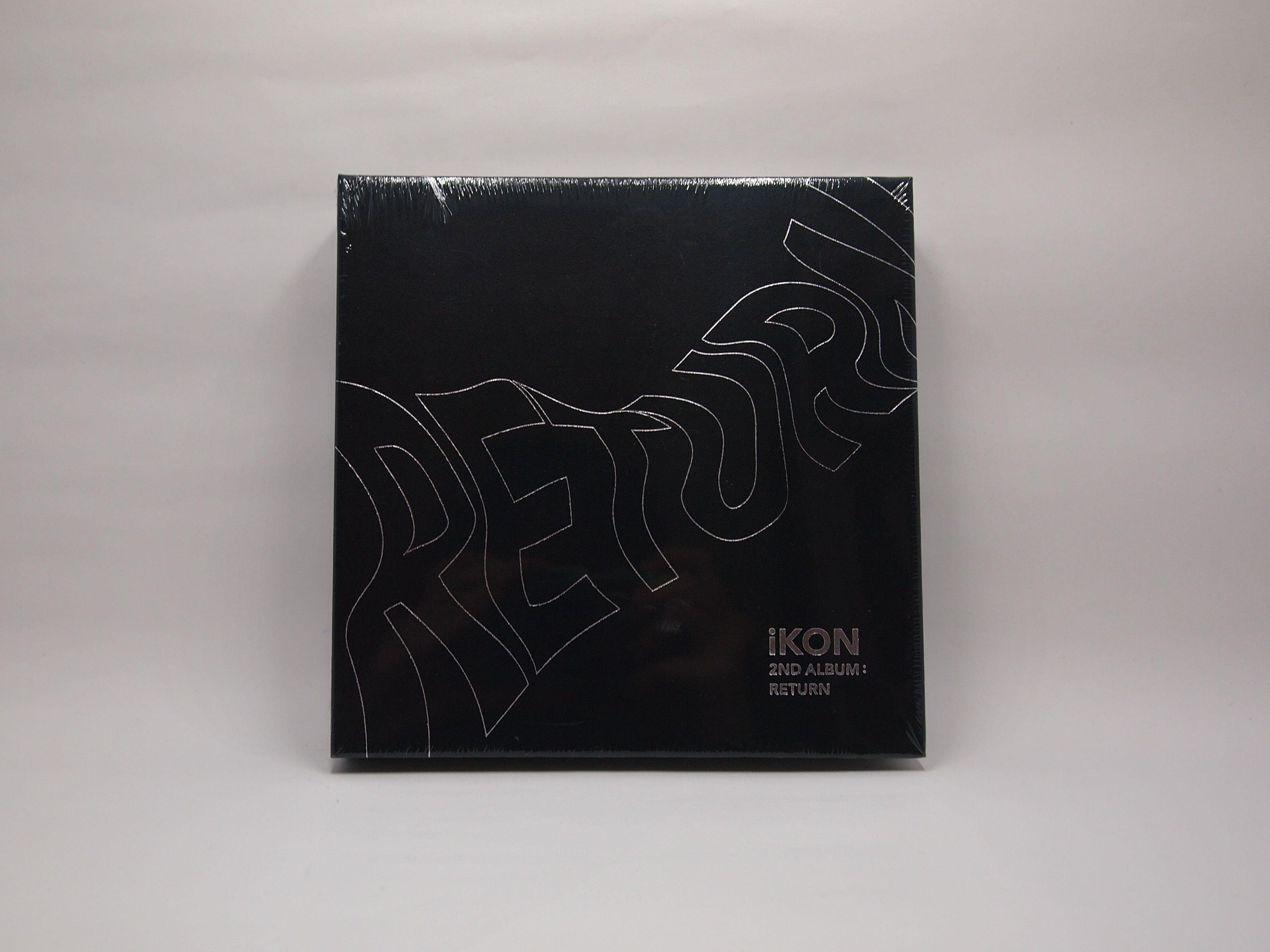 iKON - 2nd Album Return (Black )