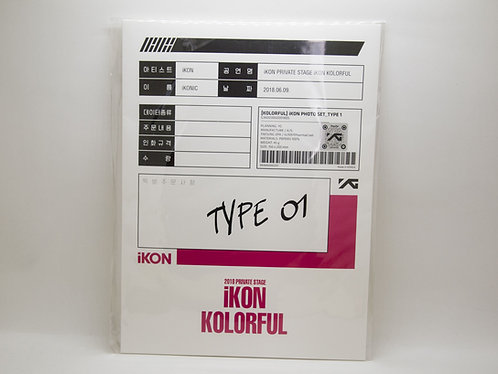 iKON Kolorful Photo (Type 01/02)