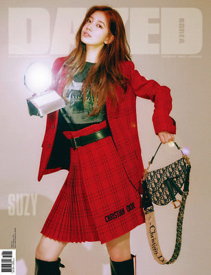 DAZED AND CONFUSED 2018.09 SUZY Black Pink Fall Edition