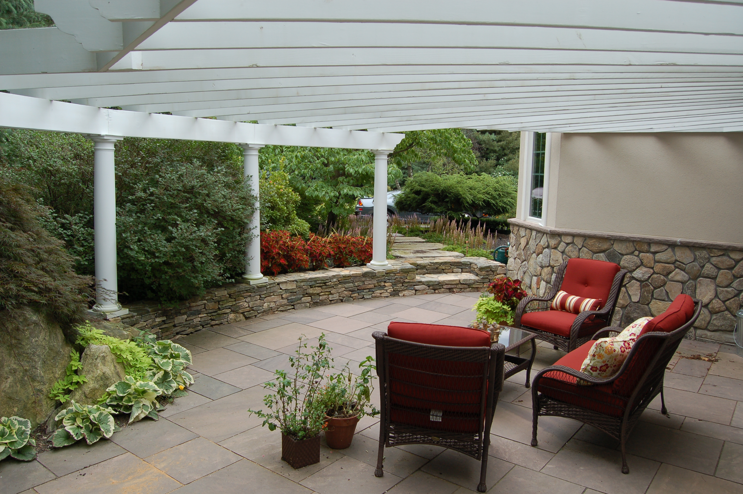 Lancaster Pergola Coverd Patio-3