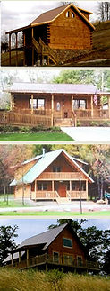 Custom Cabin Log Homes in West VIrginia