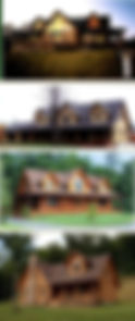 Custom Loft Log Homes in West VIrginia
