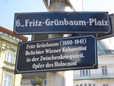 Fritz Grünbaum – ein Monument