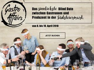 Gastro Affairs – das sinnlichste Blind Date zwischen Produzent und Gastronom in der Südsteirmark
