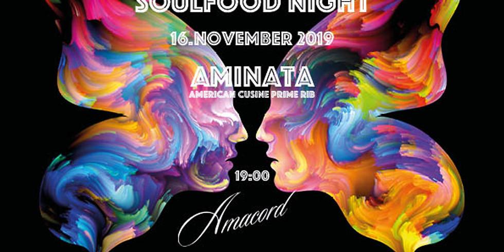 SoulFood-Night – Music*Love*Food*Dance@Amacord Café!